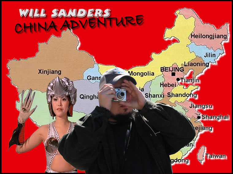 Will Sanders China Adventure Coming Soon